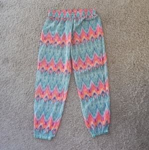 BNWOT Gorgeous Accessorize Beach Pants Colorful